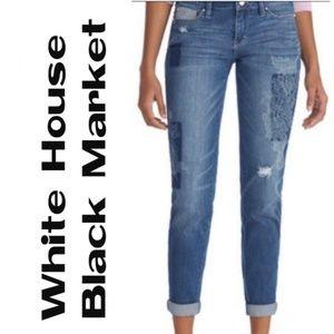 White house Black market Girlfriend Jeans - Sz. 8